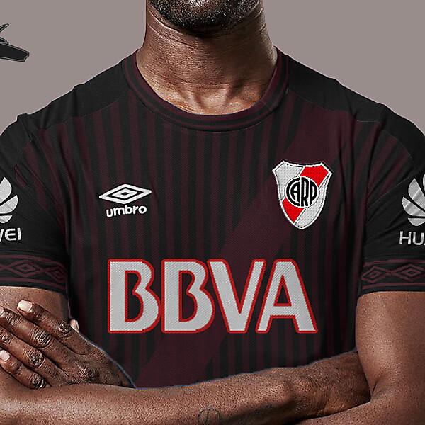 River Plate x umbro away concept