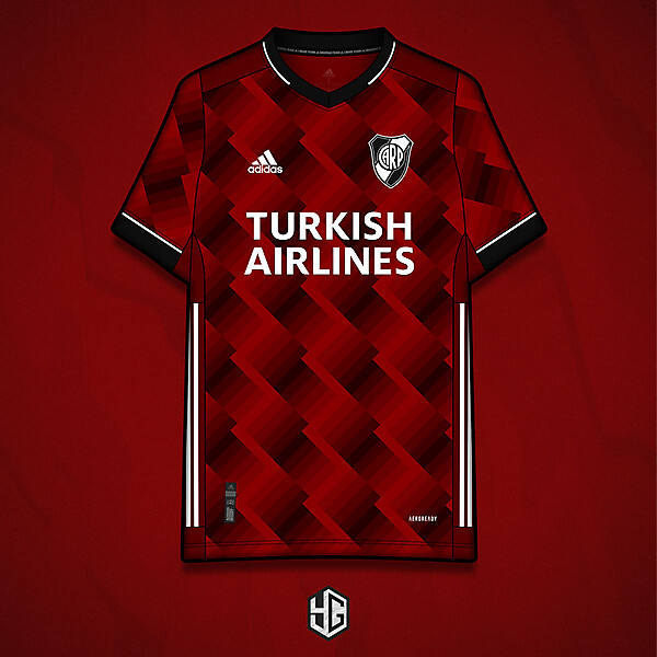 RiverPlate x adidas fantasy jersey concept