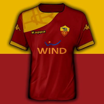 AS Roma Home Fantasy Shirt