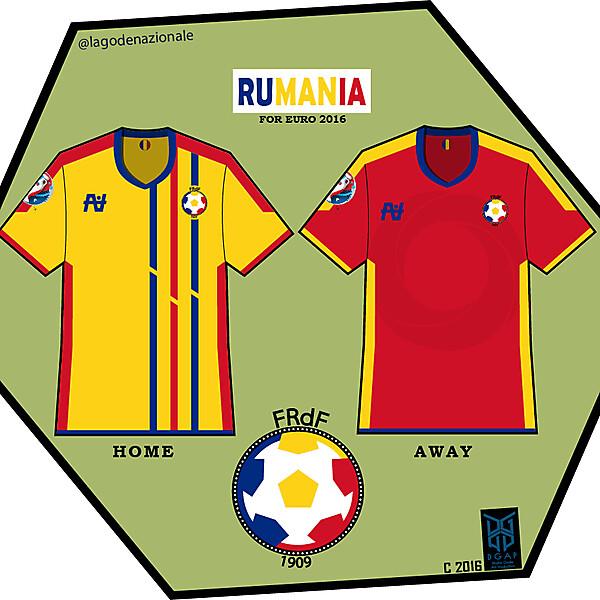 Romania Euro 2016 Fantasy Kit
