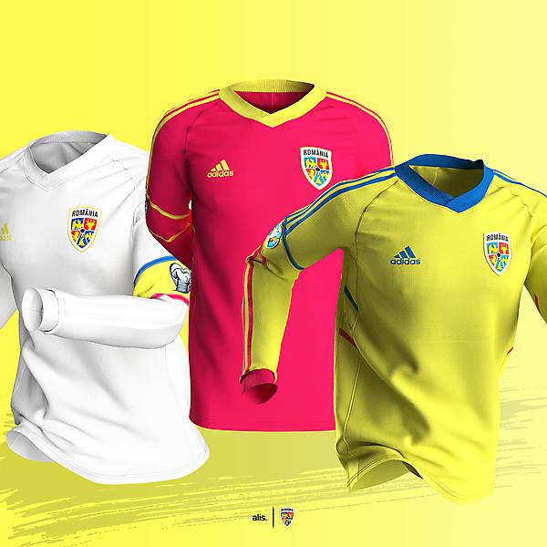 Romania X adidas - Shirt template concept