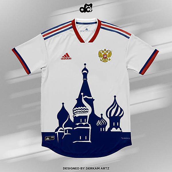 Russia - Away Kit