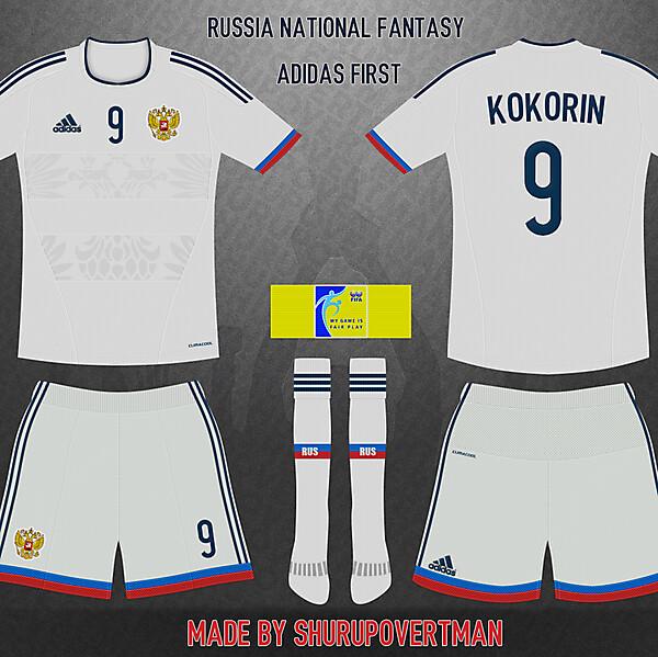 Russia Fantasy adidas Home