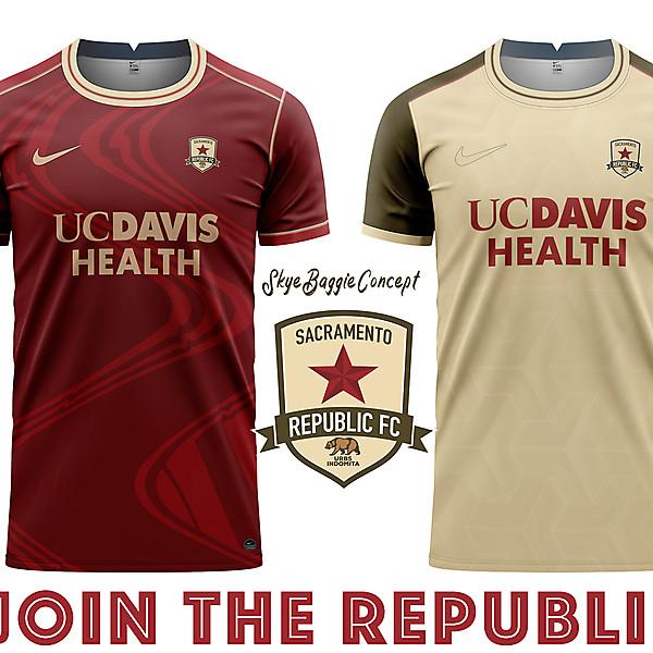 Sacramento Republic concept kits