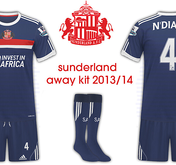 Sunderland AFC 2013/14 Away Kit