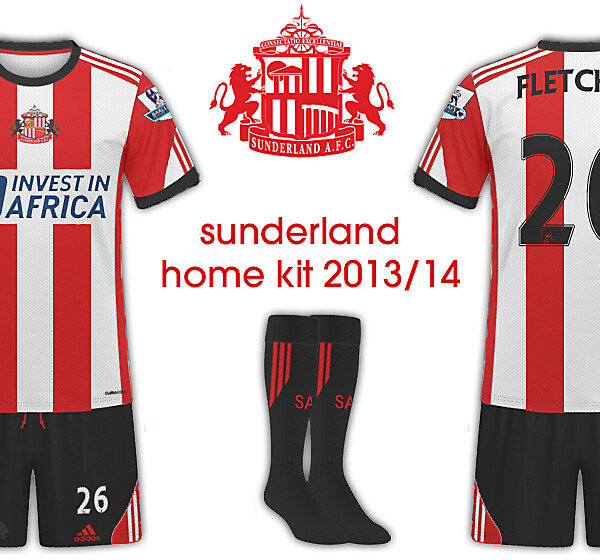 Sunderland AFC 2013/14 Home Kit