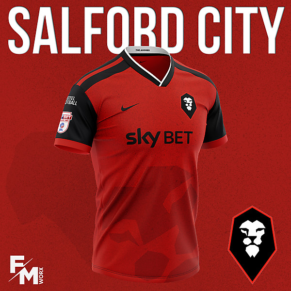 Salford City FC Home 2020/2021
