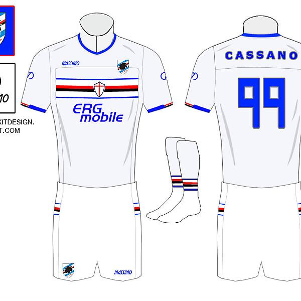 Sampdoria Away