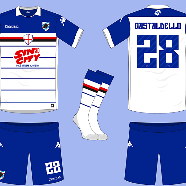 Sampdoria Away Kit
