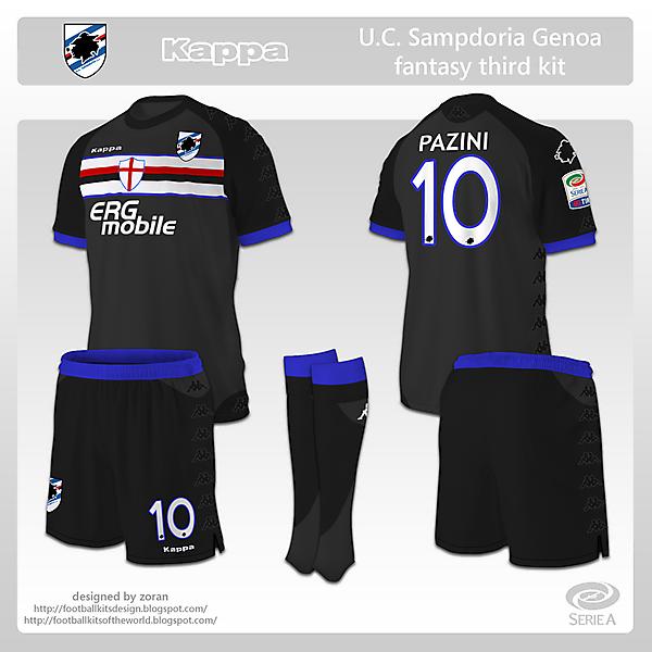 Sampdoria fantasy third