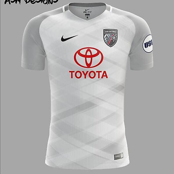 San Antonio FC Nike 2018 Away Kit