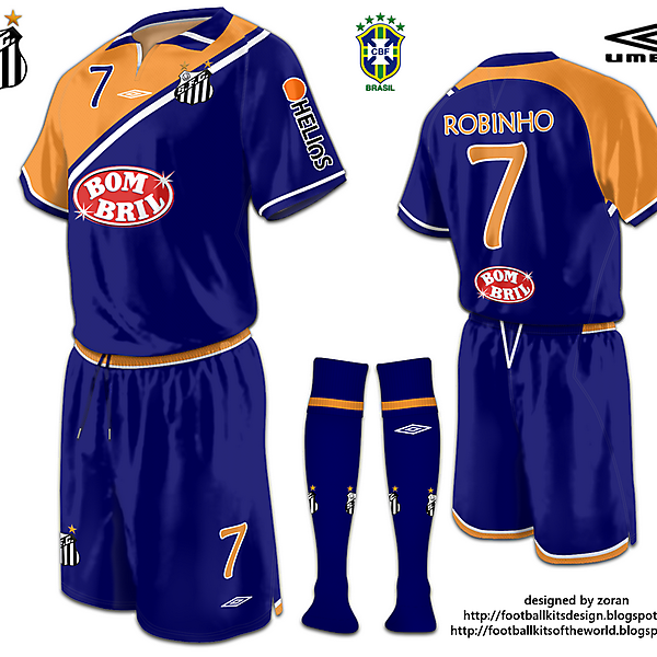 Santos FC fantasy third