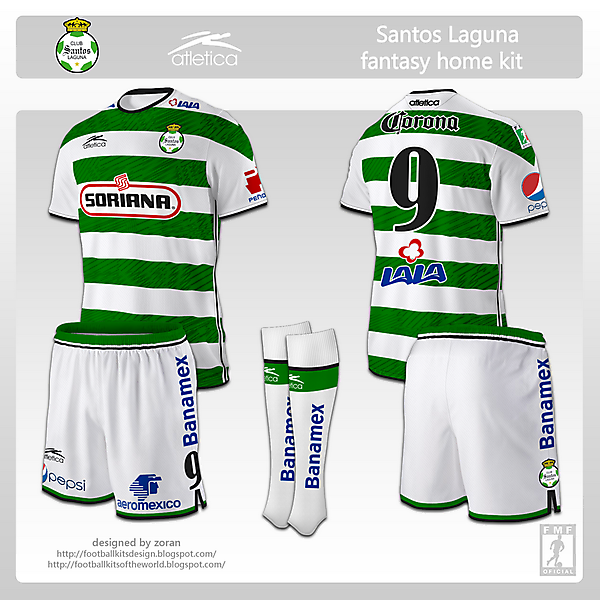 Santos Laguna fantasy home