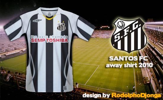 Santos FC - Away Shirt 2010