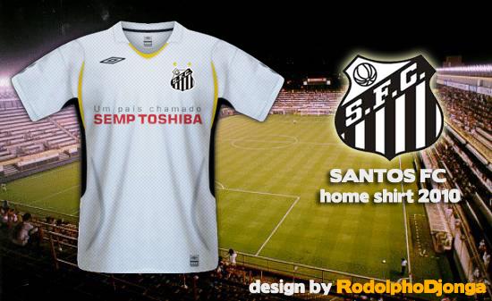 Santos FC - Home Shirt 2010