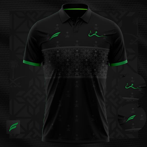 Saudi Fencing    polo t-shirt
