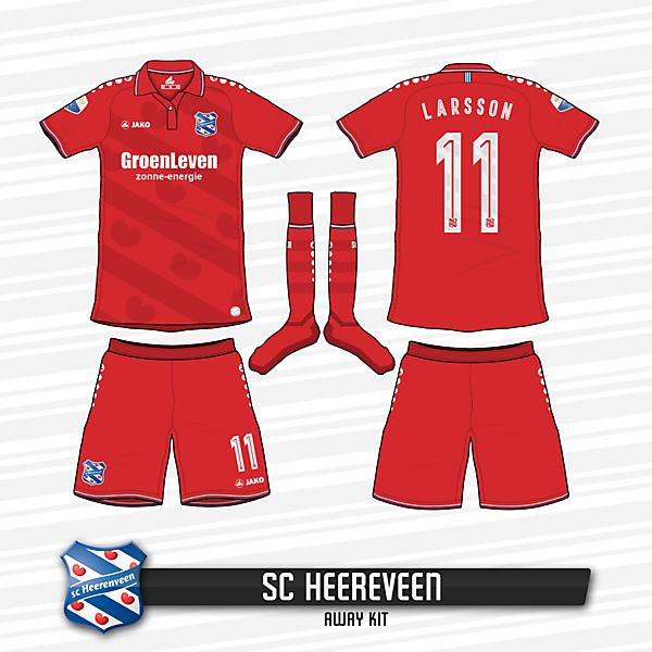 SC Heereveen Away Kit
