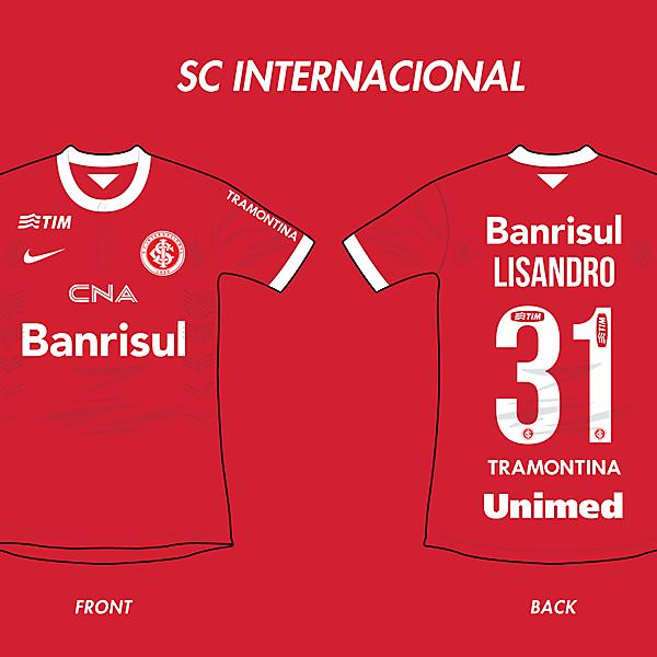 SC Internacional Home