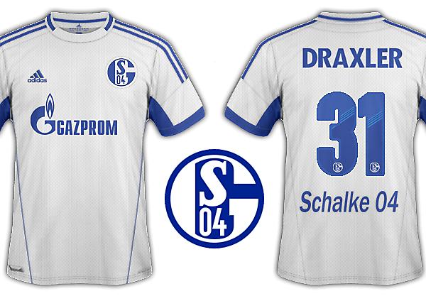 Schalke 04 2012-13  kits