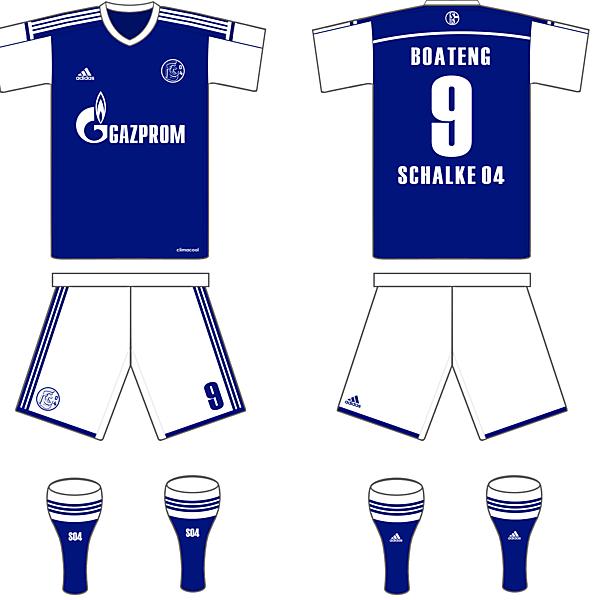 Schalke 04 Home kit
