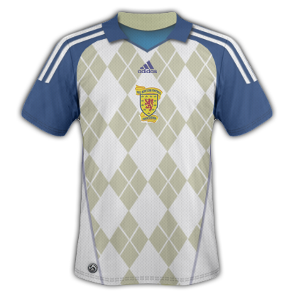 Scotland Away Adidas
