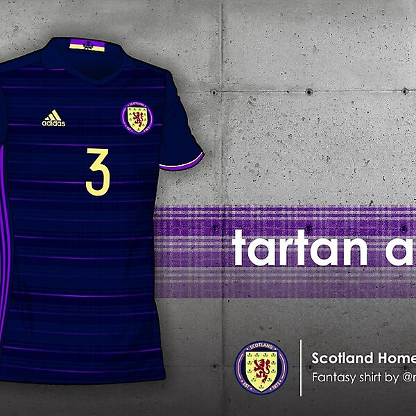 Scotland home shirt 2016 - Tartan Army
