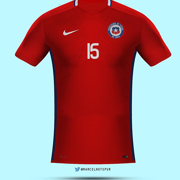 Selección de Chile   home kit