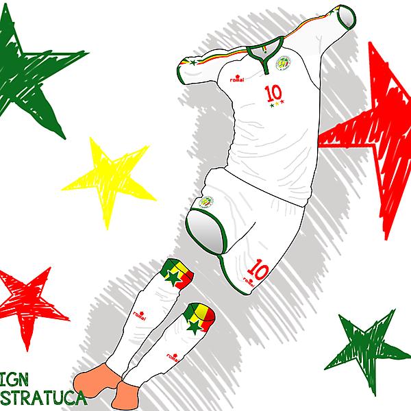 Senegal x Romai - Home kit