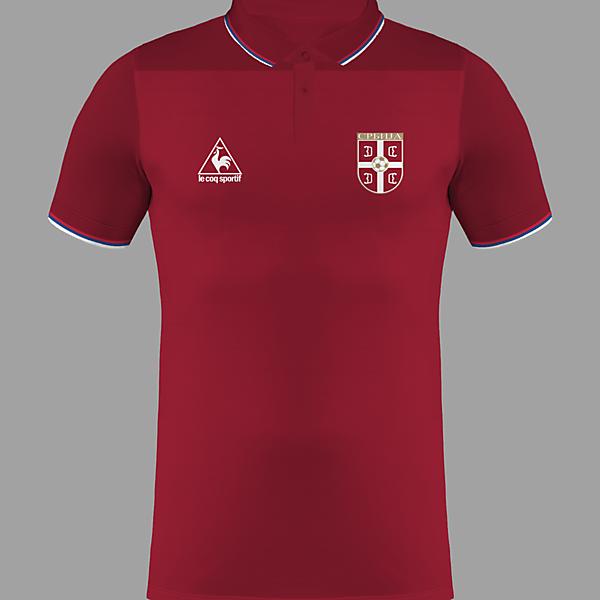 Serbia Home Kit / Le Coq Sportif