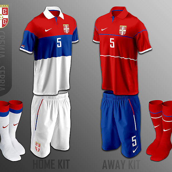Serbia (Srbija) fantasy kits