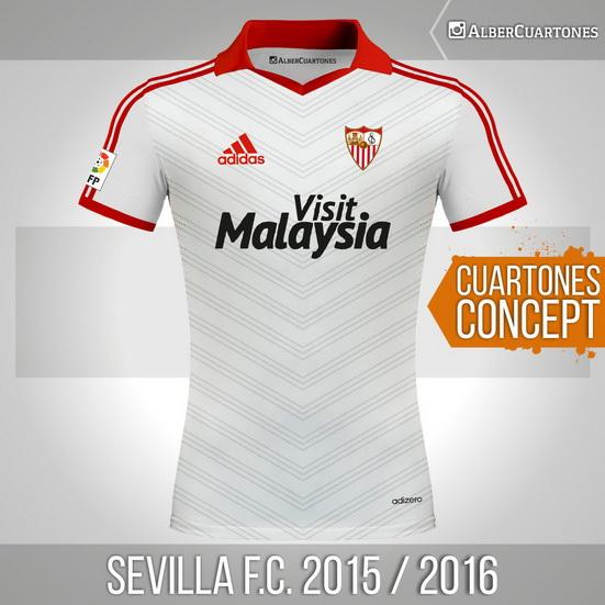 Sevilla F.C.2015 / 2016<br />Concept Shirt