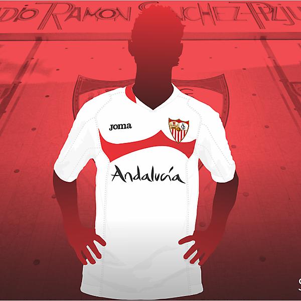 Sevilla FC S.A.D. Joma shirt re-styling