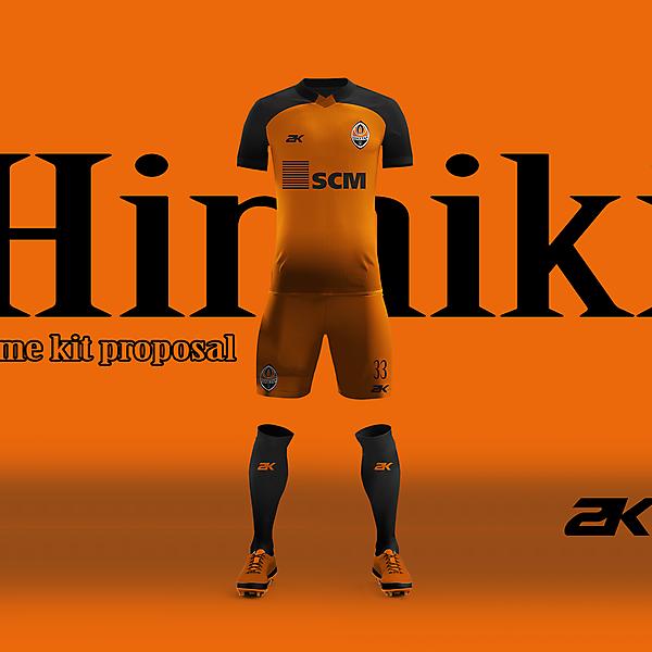 Shakhtar Donetsk - Home kit +YouTube video