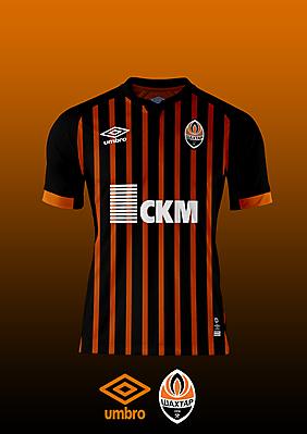 Shakhtar Donetsk - Umbro Home Kit