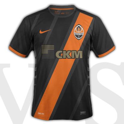Shakhtar Donetsk Away kit<br />2015/15 season