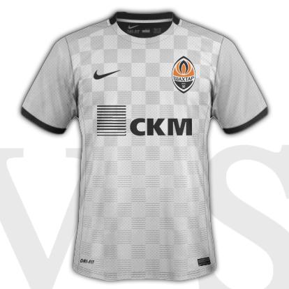 Shakhtar Donetsk Third kit 2015/15 season