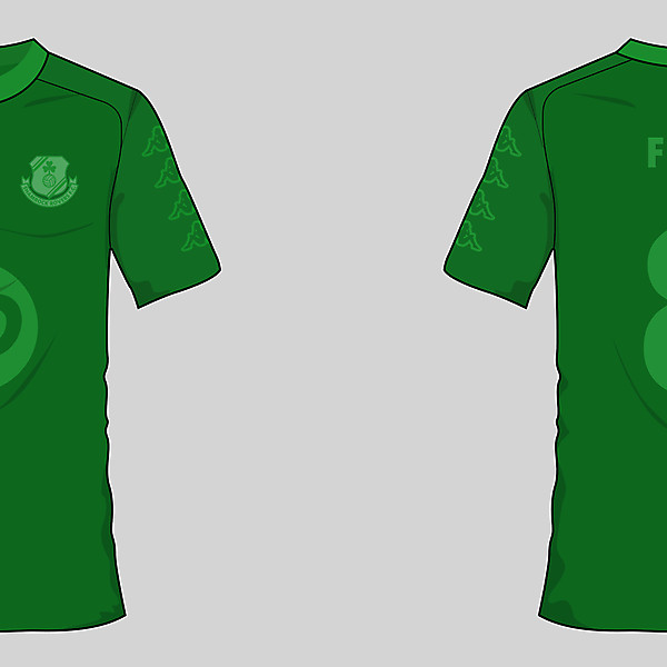 Shamrock Rovers 'Green Out' Concept Kit