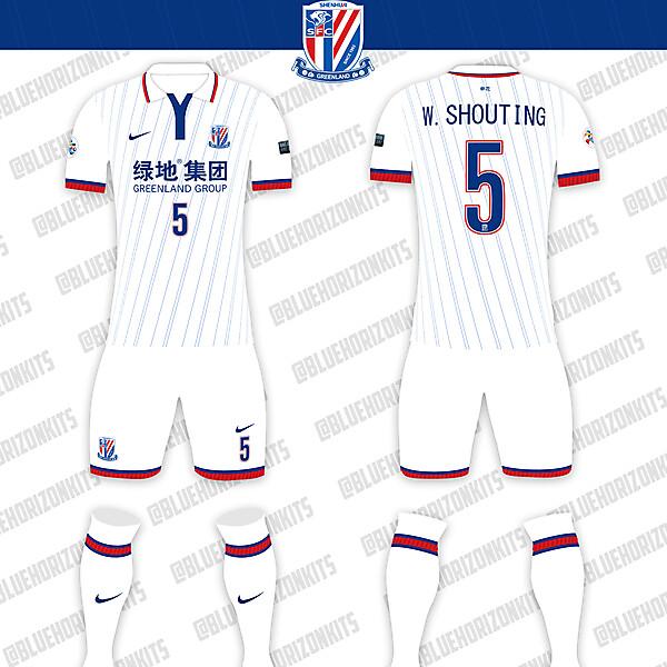 Shanghai Shenhua FC Away Kit (ACL Version)