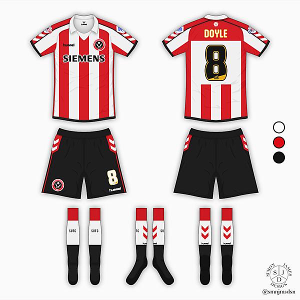 Sheffield United Home Kit - Hummel [Azure League - Matchday 9]