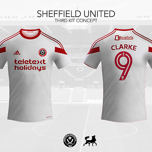 Sheffield United Third Shirt   Futwolf