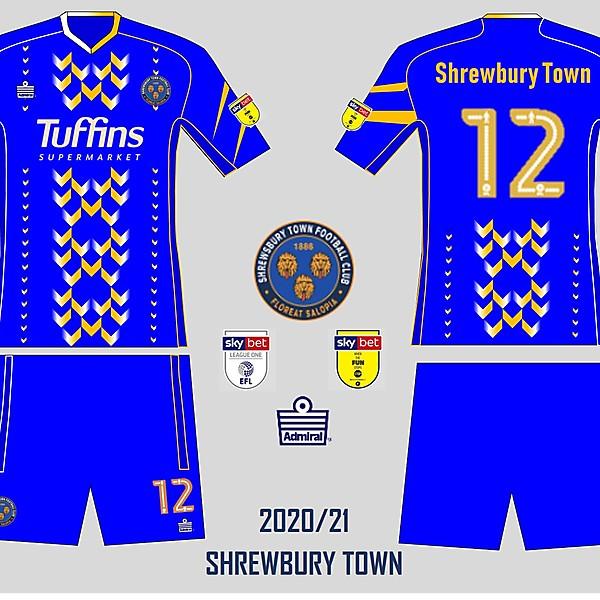 Shrewbury town 2020/21 prototype