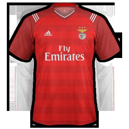 SL BENFICA 1st kit 2017/2018