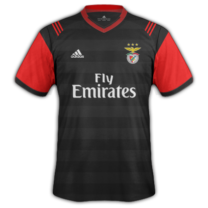 SL BENFICA 2nd kit 2017/2018