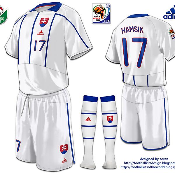 Slovakia World Cup 2010 fantasy away