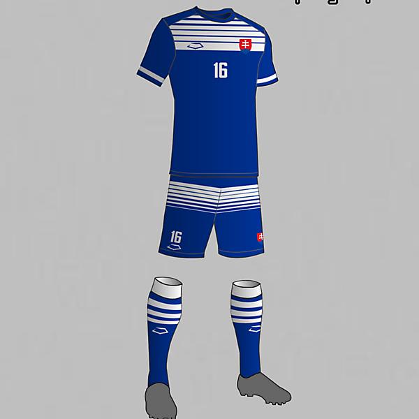 Slovakia national football team away kit 2016