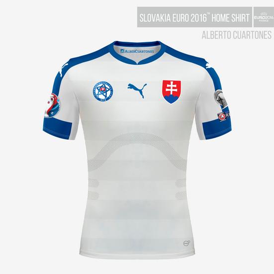 Slovakia UEFA EURO 2016™ Home Shirt