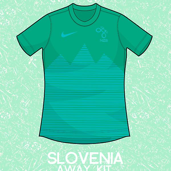 Slovenia Away Kit