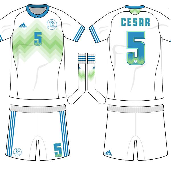 Slovenia Home kit