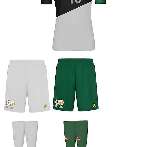 South Africa Le Coq Sportif 2020/22 Home Kit