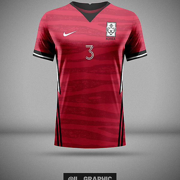 South Korea Home Kit x Nike